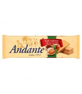 Andante Wafle rodzinne orzechowe 130 g