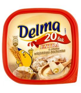 Delma Extra o smaku wiejskiego bochenka Margaryna 450 g