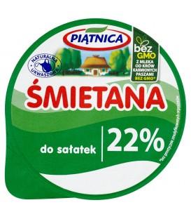 Piątnica Śmietana do sałatek 22% 200 g