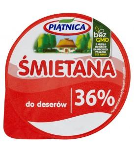 Piątnica Śmietana do deserów 36% 200 g