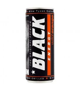 Black Wild Orange Energy Gazowany napój energetyzujący 250 ml