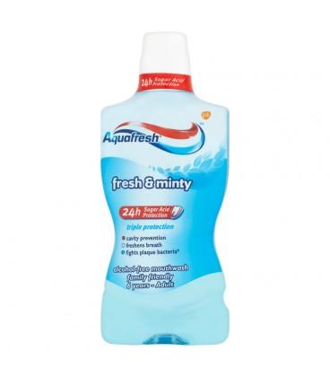 Aquafresh Triple Protection Fresh & Minty Płyn do płukania jamy ustnej 500 ml
