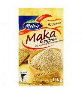 Mąka żytnia razowa 1 kg