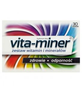 Vita-miner Suplement diety 30 tabletek