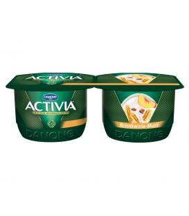 Danone Activia Brzoskwinia musli Jogurt 240 g (2 sztuki)