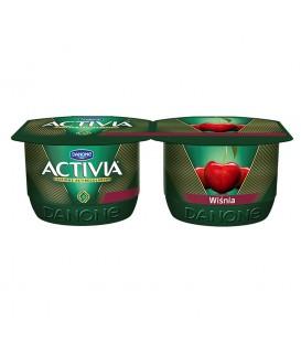 Danone Activia Wiśnia Jogurt 240 g (2 sztuki)