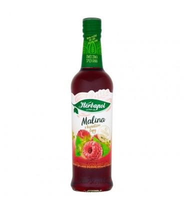 Herbapol Owocowa Spiżarnia Malina z kwiatem lipy Syrop owocowy 420 ml