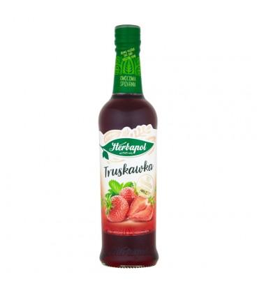 Herbapol Owocowa Spiżarnia Truskawka Syrop owocowy 420 ml