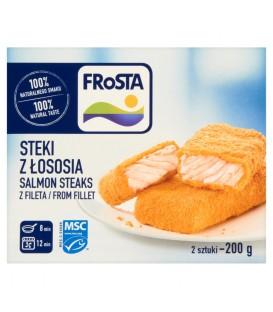 FRoSTA Steki z łososia z fileta 200 g (2 sztuki)