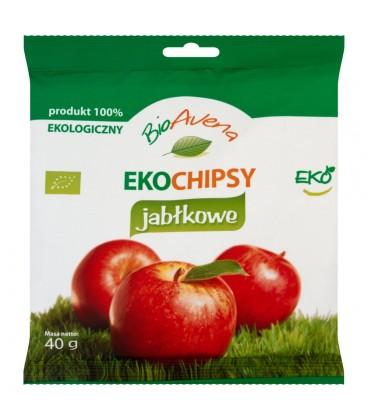 BioAvena Eko Chipsy jabłkowe 40 g