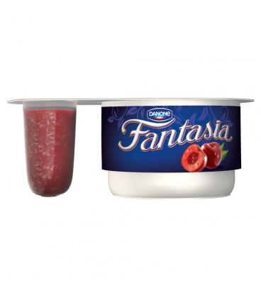 Danone Fantasia Jogurt kremowy z wiśniami 122 g