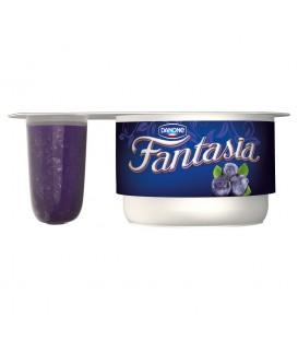 Danone Fantasia Jogurt kremowy z jagodami 122 g