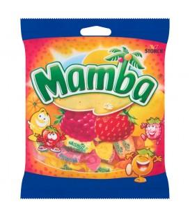 Mamba Gumy rozpuszczalne o smaku owocowym 125 g