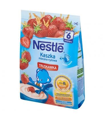 Nestlé Kaszka mleczno-ryżowa truskawka po 6 miesiącu 230 g