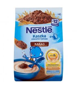 Nestlé Kaszka mleczno-ryżowa kakao po 12 miesiącu 230 g