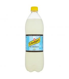 Schweppes Bitter Lemon Napój gazowany 1 l