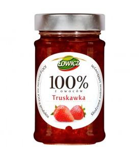 Łowicz 100% z owoców truskawka 220 g
