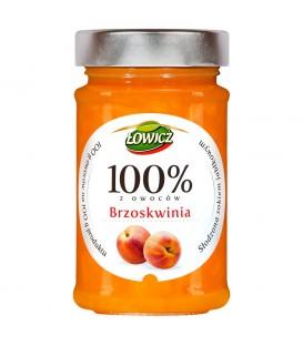 Łowicz 100% z owoców brzoskwinia 220 g