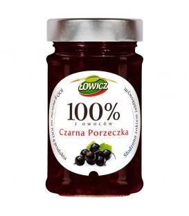 Łowicz 100% z owoców czarna porzeczka 220 g