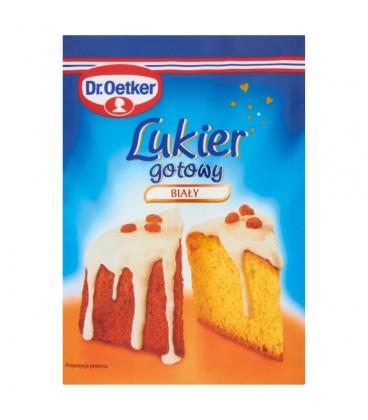 Dr. Oetker Lukier gotowy biały 100 g