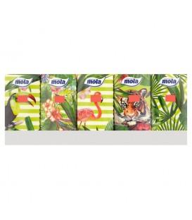 Chusteczki higieniczne Mola Tropical Jungle 10 x 10
