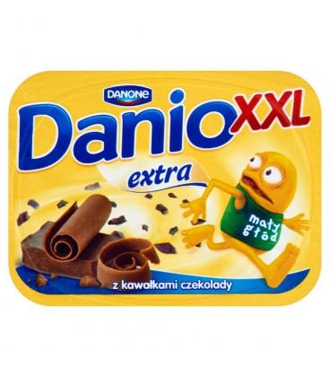 Danone Danio XXL Extra Serek homogenizowany z czekoladą 220 g