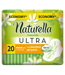 NATURELLA ULTRA NORMAL CAMOMILE PODPASKI 20 SZT.