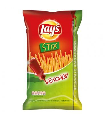 Lay's Stix Ketchup Chipsy ziemniaczane 160 g