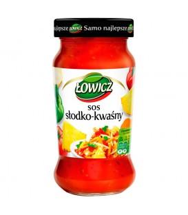Łowicz Sos słodko-kwaśny 350 g