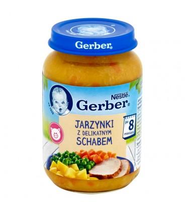 Gerber Jarzynki z delikatnym schabem po 8 miesiącu 190 g