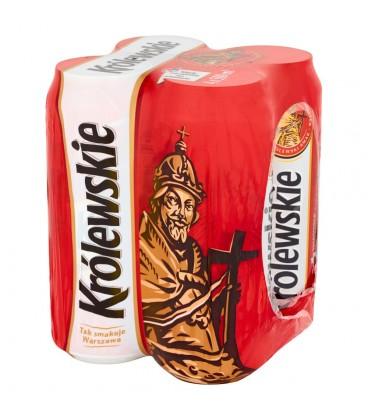 Królewskie Piwo jasne 4 x 500 ml