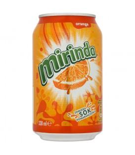Mirinda Orange Napój gazowany 330 ml