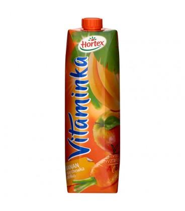 Hortex Vitaminka Banan marchewka jabłko Sok 1 l