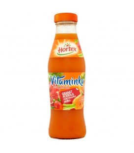 Hortex Vitaminka & Superfruits Granat acerola marchewka jabłko Sok 250 ml