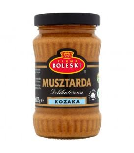 Firma Roleski Delikatesowa Musztarda kozaka 175 g