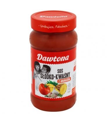 Dawtona Sos słodko-kwaśny z ananasem 550 g