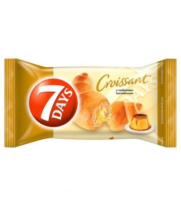 7 Days Croissant z nadzieniem o smaku karmelowym 60 g