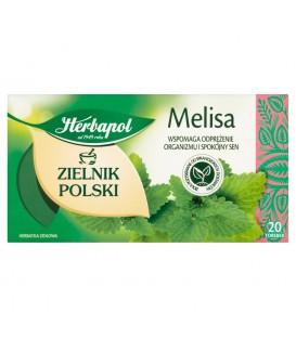 Herbapol Zielnik Polski Melisa Herbatka ziołowa 40 g (20 torebek)