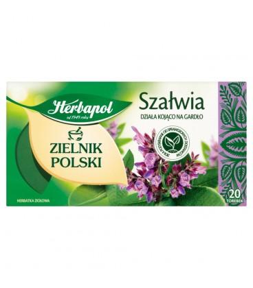 Herbapol Zielnik Polski Szałwia Herbatka ziołowa 24 g (20 torebek)