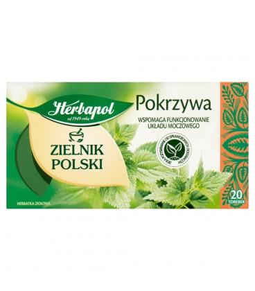 Herbapol Zielnik Polski Pokrzywa Herbatka ziołowa 30 g (20 torebek)