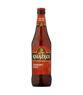KSIĄŻĘCE CZERWONY LAGER butelka 500ml