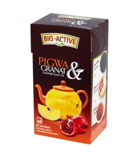 Herbata czarna z pigwą + granat 20TBx2g