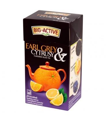 Big-Active Earl Grey & Cytrusy Herbata czarna z cytrusami 40 g (20 torebek)