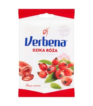 Verbena Dzika róża Ziołowe cukierki 60 g