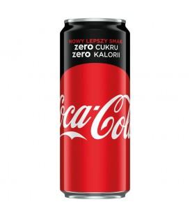 Coca-Cola zero Napój gazowany 330 ml
