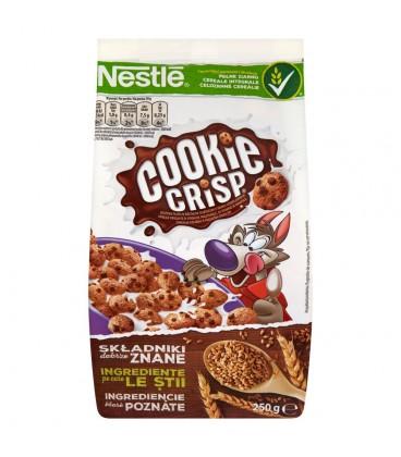 Nestlé Cookie Crisp Płatki śniadaniowe 250 g