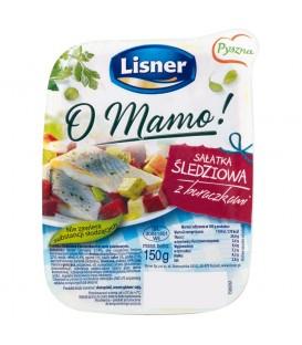 Lisner O Mamo! Sałatka śledziowa z buraczkami 150 g