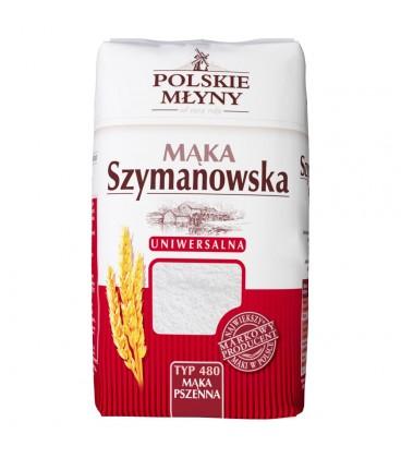 Polskie Młyny Mąka Szymanowska pszenna uniwersalna typ 480 1 kg