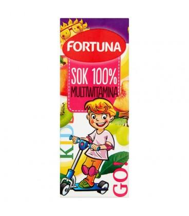 Fortuna Multiwitamina Sok 100% 200 ml