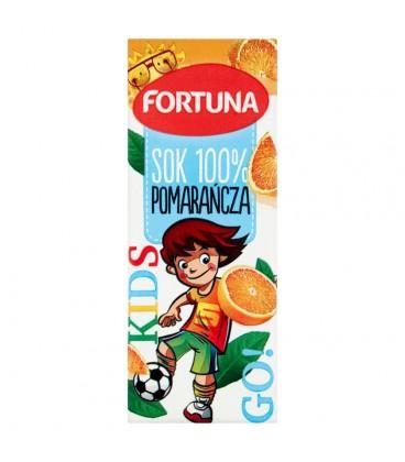 Fortuna Pomarańcza Sok 100% 200 ml